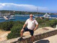 2017 06 01 Blick auf Porto Cervo mit Hafen