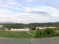 2017 05 31 San Teodoro Blick vom riesigen Hotel Grande Baia