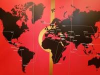 Route der World Trophy Tour
