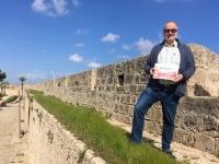 2018 02 28 Famagusta Stadtmauer Reisewelt on Tour