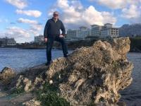 2018 02 25 Alsancak Strand mit Hotel Merit Royal