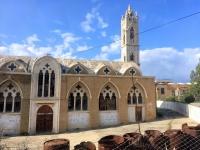 2018 02 27 Famagusta Kirche in Geisterstadt Varoscha