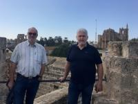2018 02 28 Famagusta Stadtmauer mit Nikolauskirche mit Heli