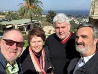 2018 03 01 Kyrenia Bellapais Gruppenfoto