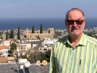 2018 03 01 Kyrenia Haus vom Schriftsteller Durell mit Blick auf die Küste
