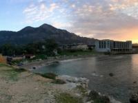 2018 02 28 Beachbar Nähe Hotel Sonnenuntergang