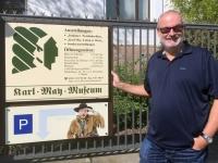 2018 04 29 Radebeul Eingang zum Karl May Museum
