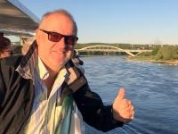 2018 04 30 Dresden Elbe Unesco Waldschlößchenbrücke