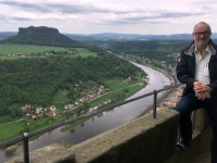 2018 05 01 Festung Königstein mit Elbe