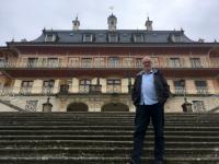2018 05 02 Schloss Pillnitz von der Schiffsanlegestelle aus