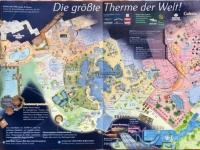 Lageplan der größten Therme der Welt