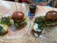 Perfekte Burger zum Abschluss