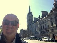 2018 05 14 Aberdeen Stadthaus mit Uhrturm