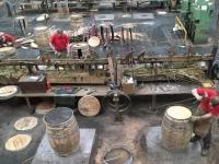 2018 05 15 Craigellachie Küferei Speyside Cooperage Werkshalle
