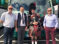 2018 05 16 Fort Augustus Busfahrer und Reiseleiter