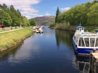 2018 05 16 Fort Augustus Kanal fliesst in See