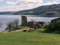 2018 05 16 Urquhart Castle am Loch Ness