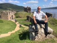 2018 05 16 Urquhart Castle mit Loch Ness