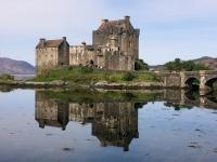 2018 05 17 Eilean Donan Castle tolle Spiegelung am See Duich