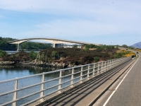 2018 05 17 Fahrt über die Isle Brücke