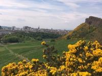 2018 05 18 Edinburgh Blick vom Holyrood Park