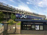 2018 05 19 Edinburg vorbei am Stadion BT Murrayfield