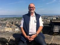 2018 05 19 Edinburgh Castle Blick auf die Stadt