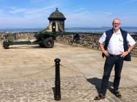 2018 05 19 Edinburgh Castle mit 1 Uhr Kanone