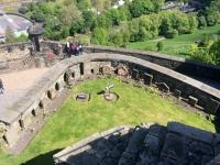 2018 05 19 Edinburgh Castle mit Hundefriedhof der Soldaten