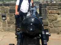 2018 05 19 Edinburgh Castle mit Kanone