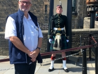 2018 05 19 Edinburgh Castle mit Soldaten