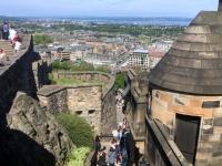 2018 05 19 Edinburgh Castle mit herrlichem Ausblick