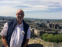 2018 05 19 Edinburgh Castle mit herrlichem Blick auf die Stadt