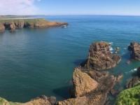 2018 05 14 Dunnator Castle Blick auf Meer