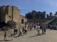 2018 05 19 Edinburgh Castle Burgaufgang