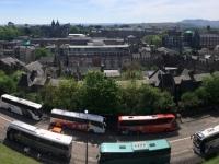 2018 05 19 Edinburgh Castle Busparkstreifen