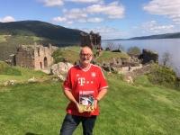 2018 05 16 Urquhart Castle am Loch Ness FC Bayern