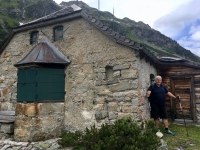 Berühmte Berghütte mit trauriger Vergangenheit