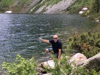 Erfolgreiche Wasserentnahme am Grünsee