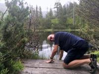 Wasserentnahme im Moorsee