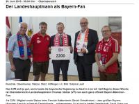 Der LH als Bayern-Fan