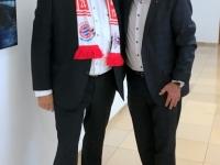 Gerald Stutz mit Landesamtsdirektor Dr Erich Watzl