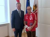 LH Mag Thomas Stelzer mit Franz Höflinger