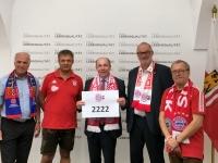 LR Max Hiegelsberger ist unser Mitglied Nr 2222