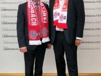 LR Max Hiegelsberger mit Gerald Stutz