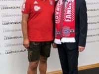 Obmann Hannes Obernhumer mit LR Max Hiegelsberger