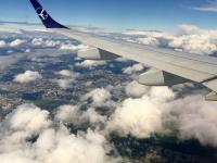 2018 06 24 Landeanflug in Minsk