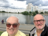 2018 06 24 Minsk See Nähe Hotel