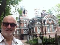 2018 06 26 Waldfriedhof mit Kirche des Hl Prinz Nevsky