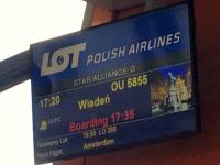 2018 06 27 Minsk Boarding Richtung Warschau